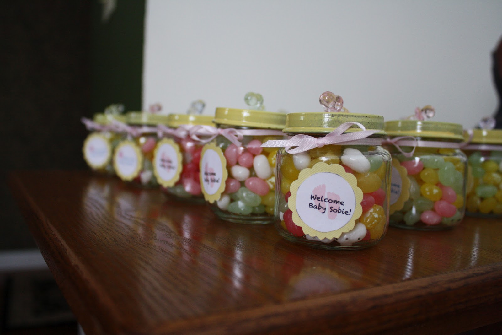 The nelson notes diy baby shower favors for Baby shower food decoration ideas