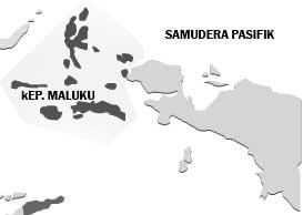 Ternate and Tidore Kingdoms were located in Maluku Islands