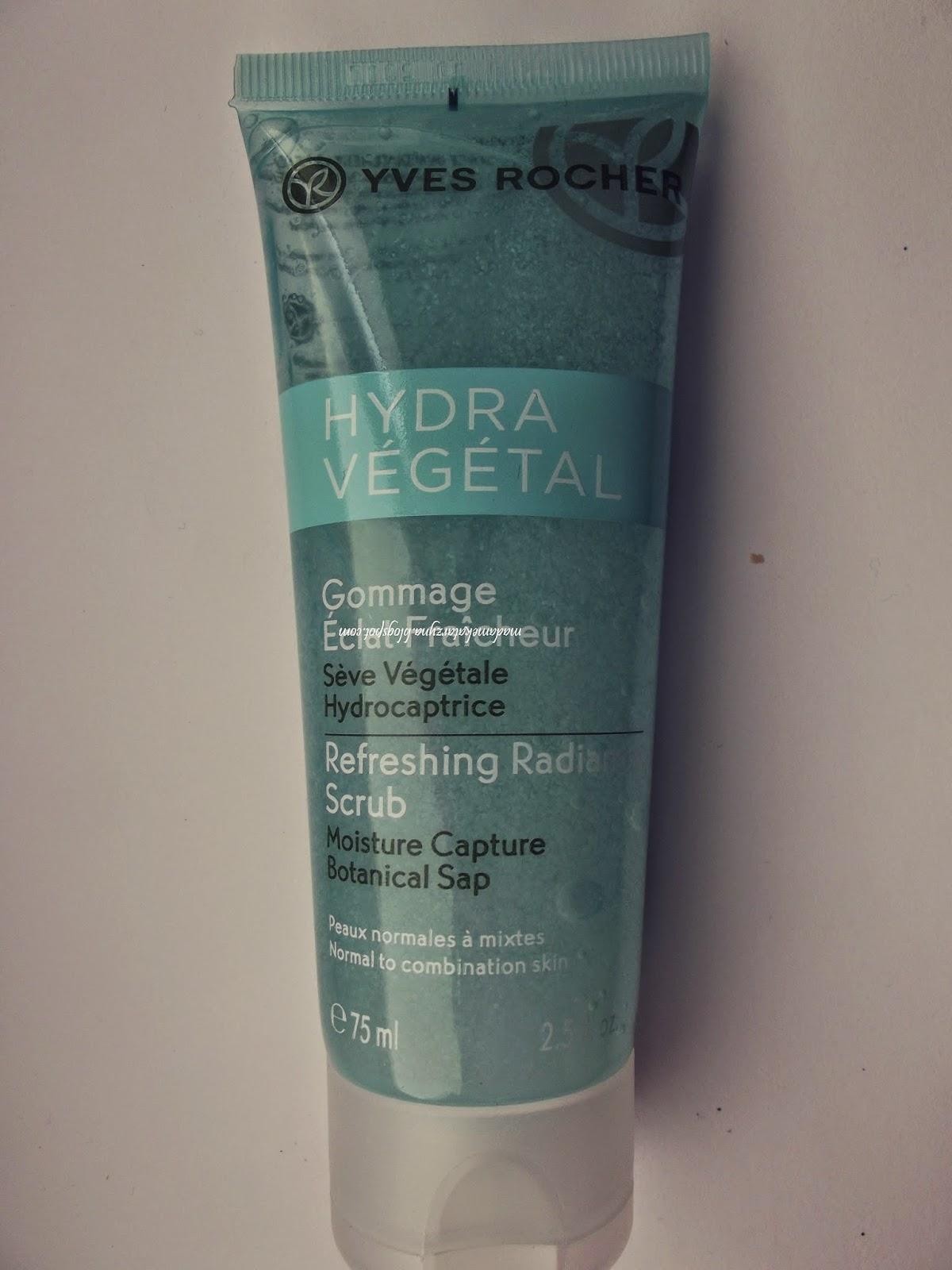 Yves Rocher - Nawilżający peeling do twarzy Hydra Vegetal