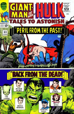 Tales to Astonish #68. Giant-Man and the Hulk