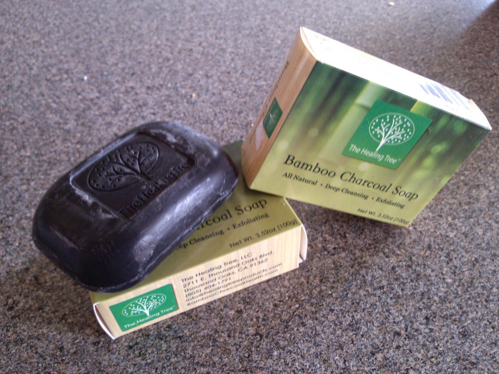 Healing Tree Bamboo Charcoal Soap Review