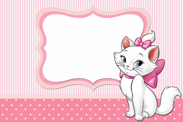 Confira Convites Da Gatinha Marie Gratuitos Para Imprimir Sua