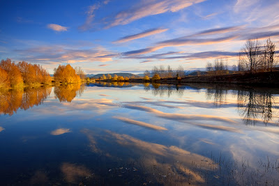how to shoot water reflections landscape