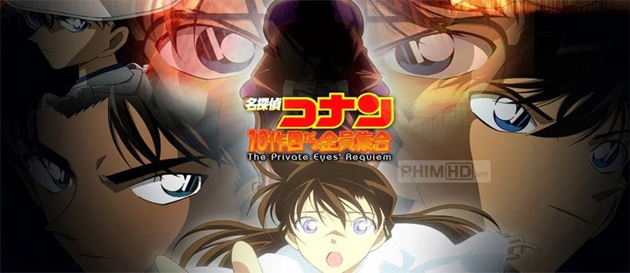 Thám Tử Lừng Danh Conan 10: Lễ Cầu Hồn Thám Tử - Conan Movie 10: Requiem Of The Detectives - 2006