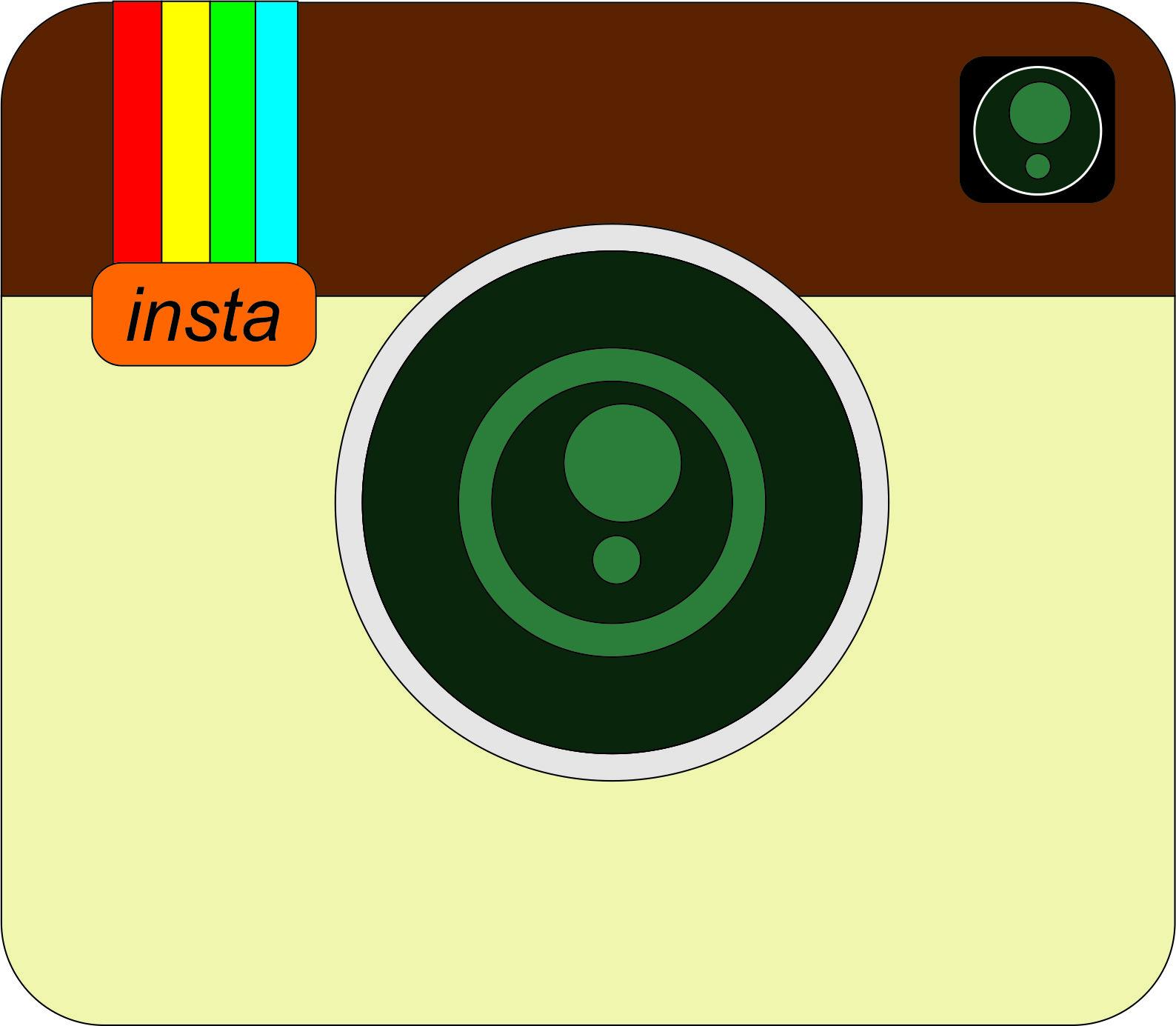 Buku Harian Fadila Membuat Logo Instagram Corel X7 Membagikan Menggunakan