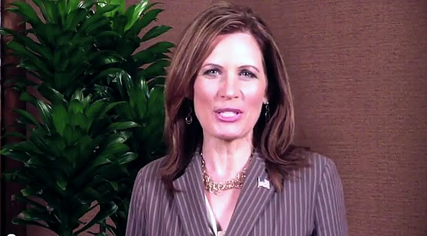 Michele Bachmann's new web video