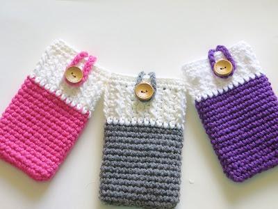 Free Pattern Crochet Spike Stitch Coffee Cozy - Marly Bird