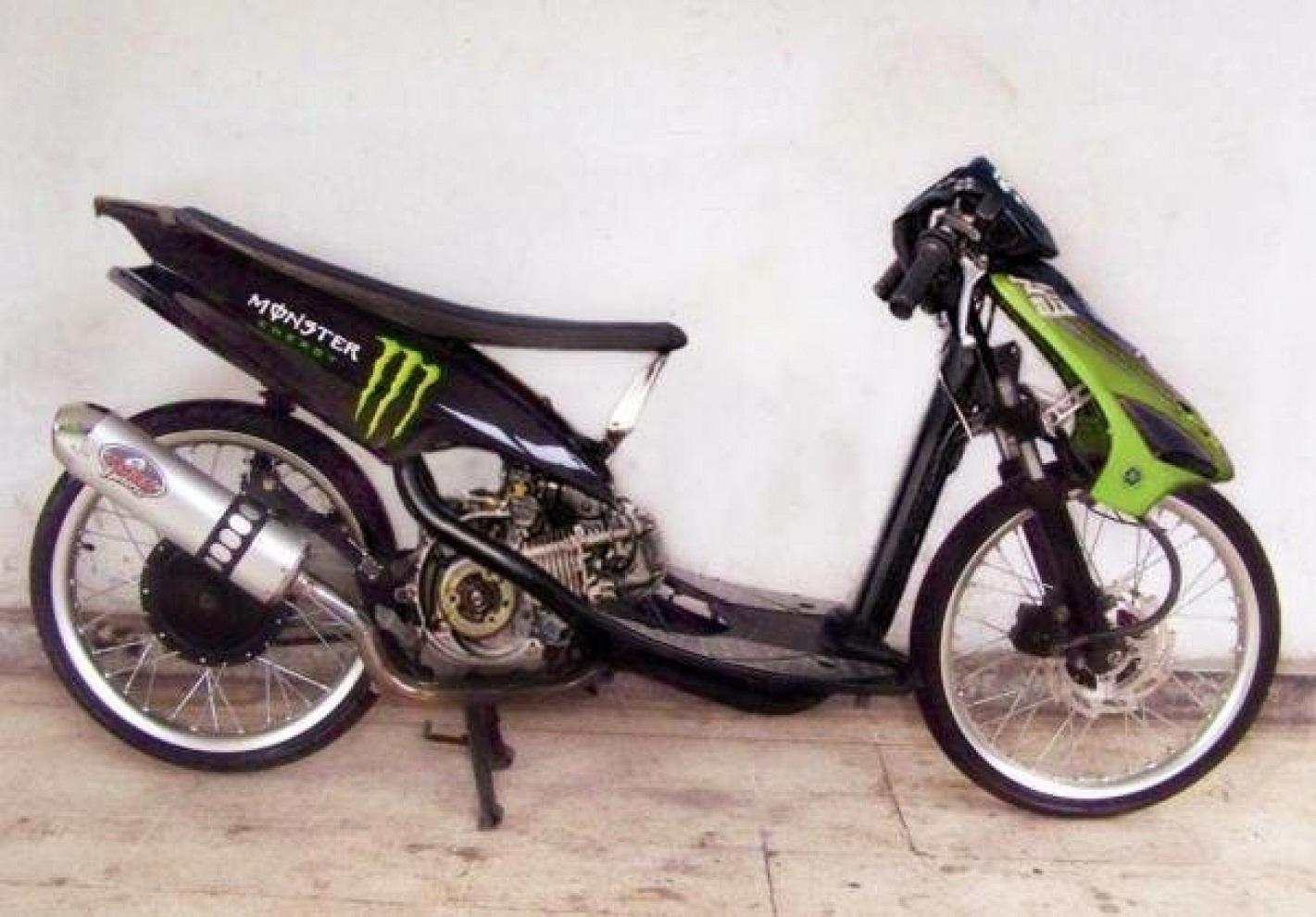 Gambar Modifikasi: Kumpulan Foto Modifikasi Motor Mio Drag