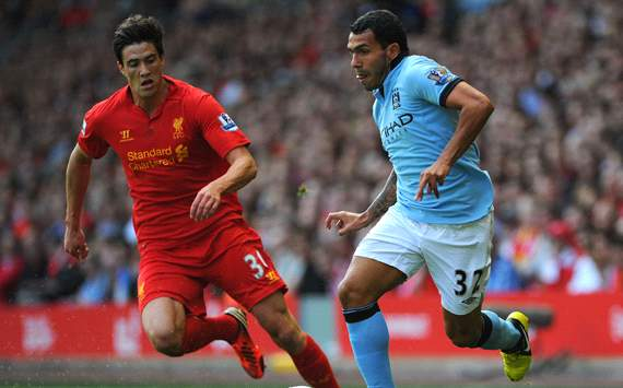 Foto Pertandingan Liverpool Vs Manchester City