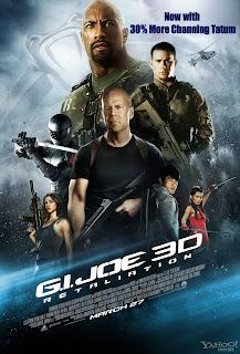 GI Joe 2, gi joe 3d, gi joe, worst movies of 2013, the rock, channing tatum