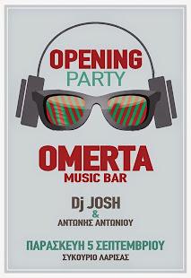 OMERTA MUSIC BAR