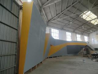 Construcción Rocodromo