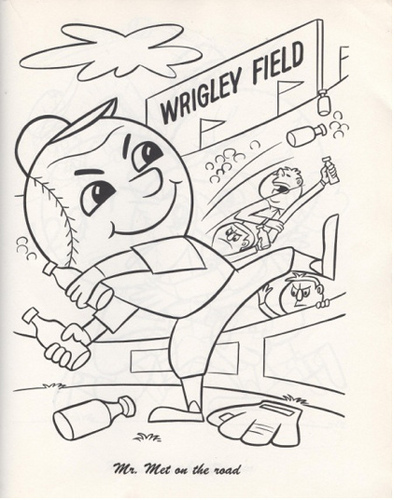 Mets baseball cards like they ought to be off day for Mets coloring pages