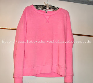 Pink pullover neon