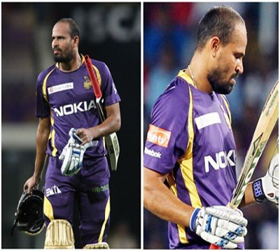 Yusuf Pathan given out as obstructing the field against Pune in IPL 2013