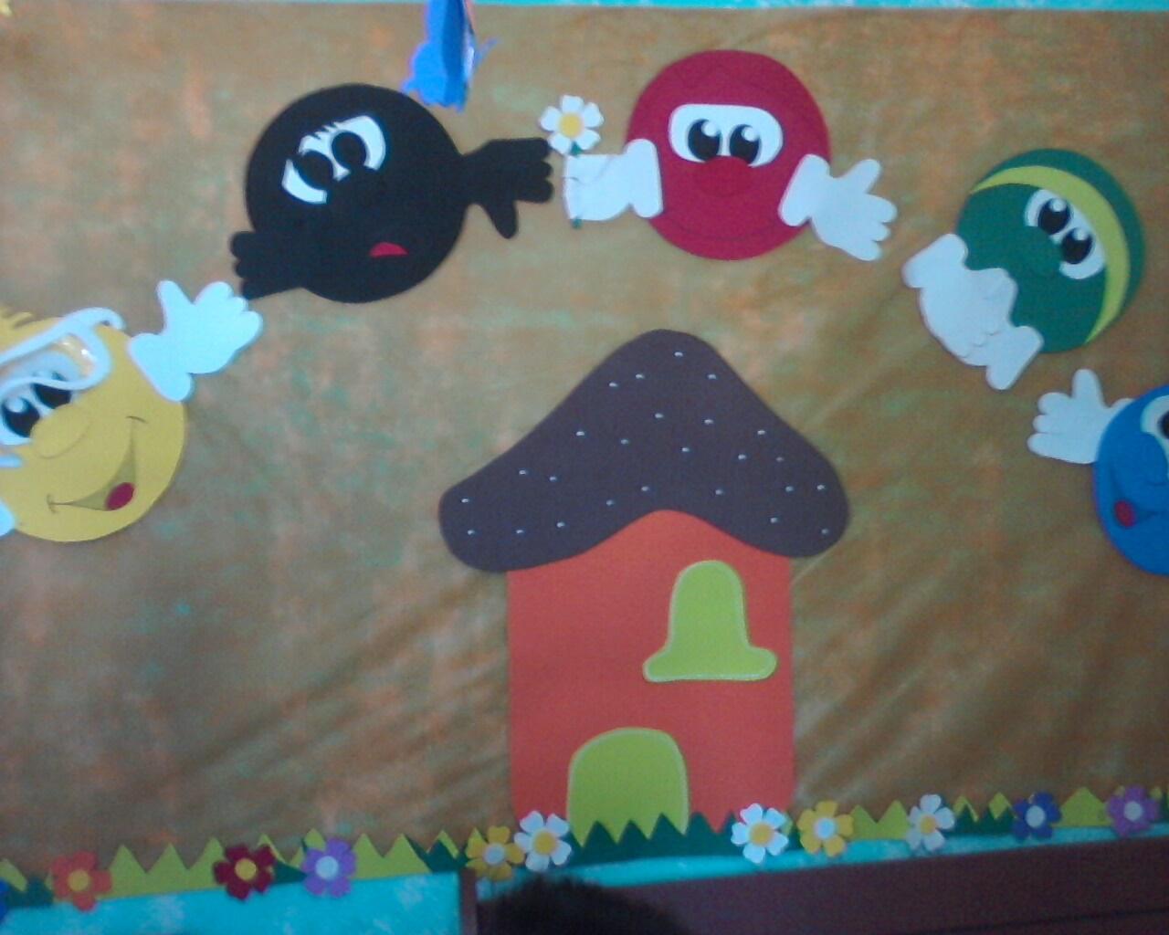 decoracao de sala infantil escola dominical : decoracao de sala infantil escola dominical: Pinturas e Escolinha Bíblica: Decoração Sala Escola Dominical