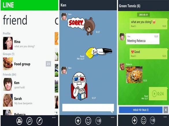 Silahkan Download Dulu Aplikasi Line Pada Google Play