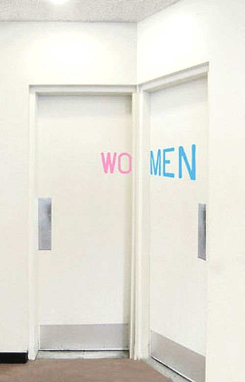 Baños Publicos Originales:Funny Bathroom Signs Men Women