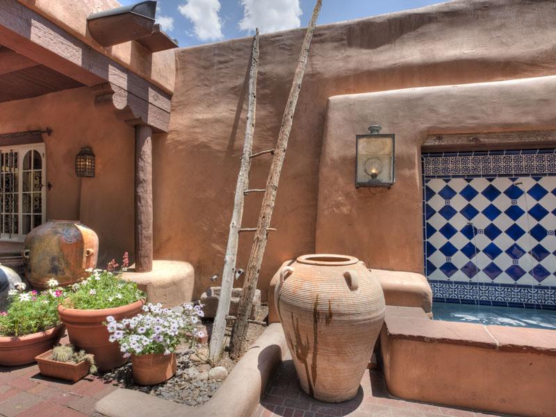 Estilo rustico los patios rusticos - Azulejos rusticos para patios ...