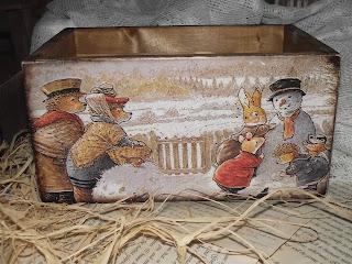 Ящик для детской комнаты