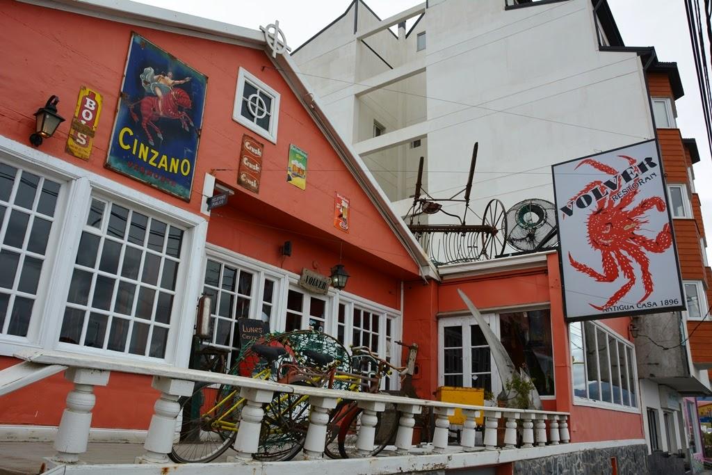 Ushuaia city restaurant Volver