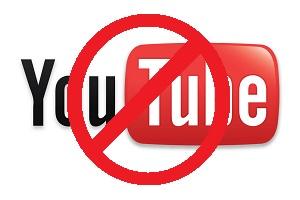 Youtube bloqué