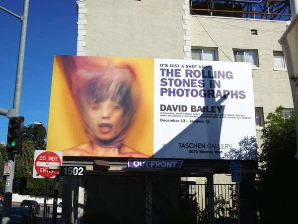 Rolling Stones David Bailey Photos Taschen Gallery billboard