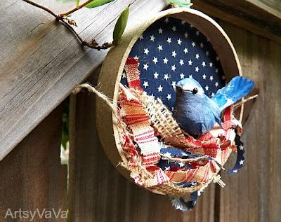Artsy VaVa The Patriotic Nest