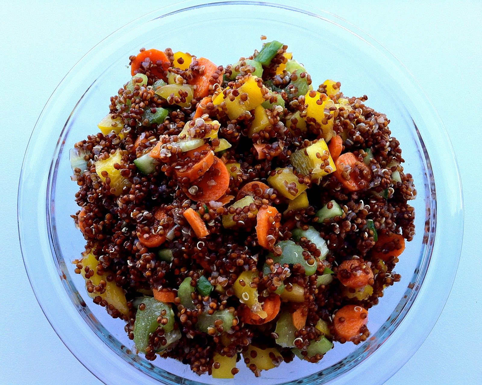 Delaine's Skinny Delights: Quinoa Summer Salad