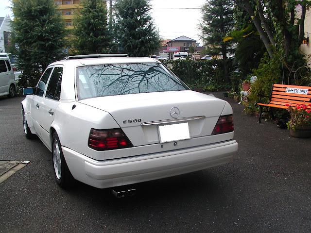 mercedes w124 white