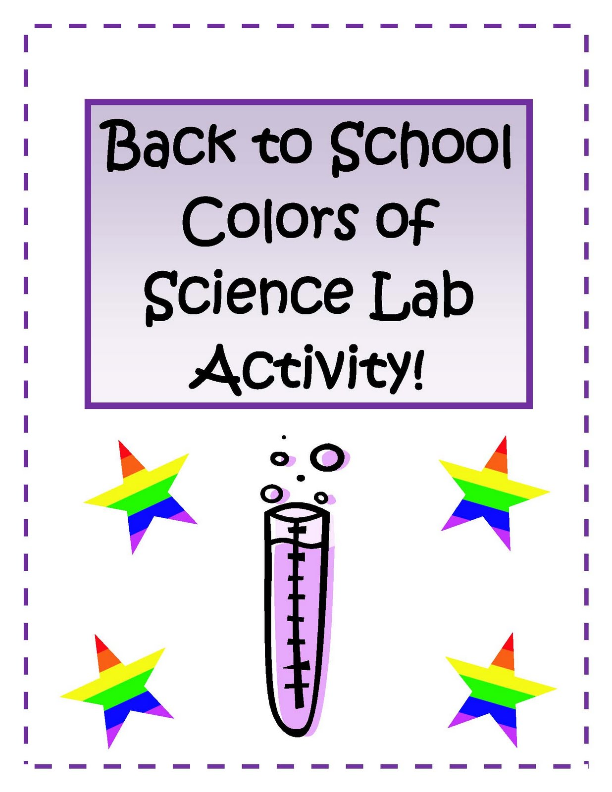 ... school colors of science lab activity fun html this science activity