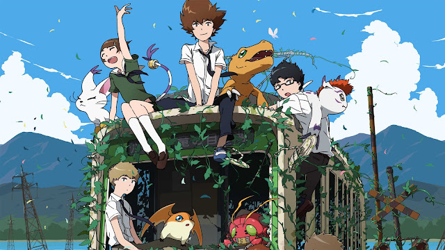 Bohaterowie Digimon Adventure tri.