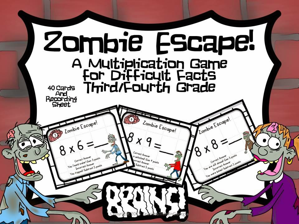 Luxury Zombie Apocalypse Math Worksheet Collection - Math Worksheets ...