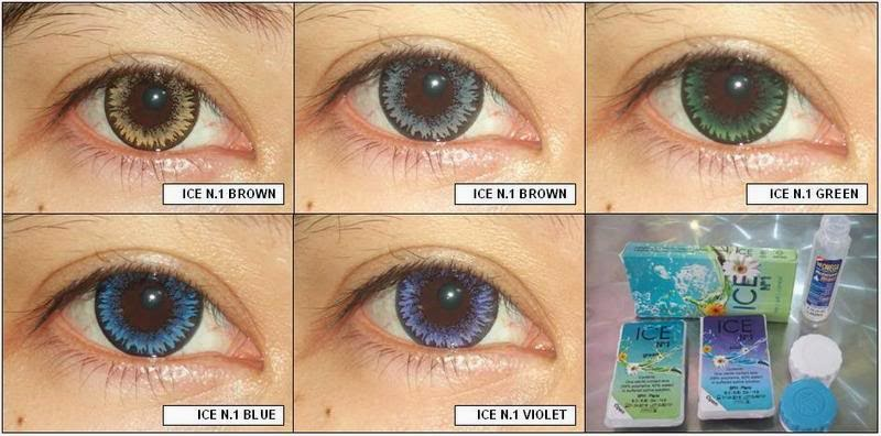 Review Softlens Ice N1