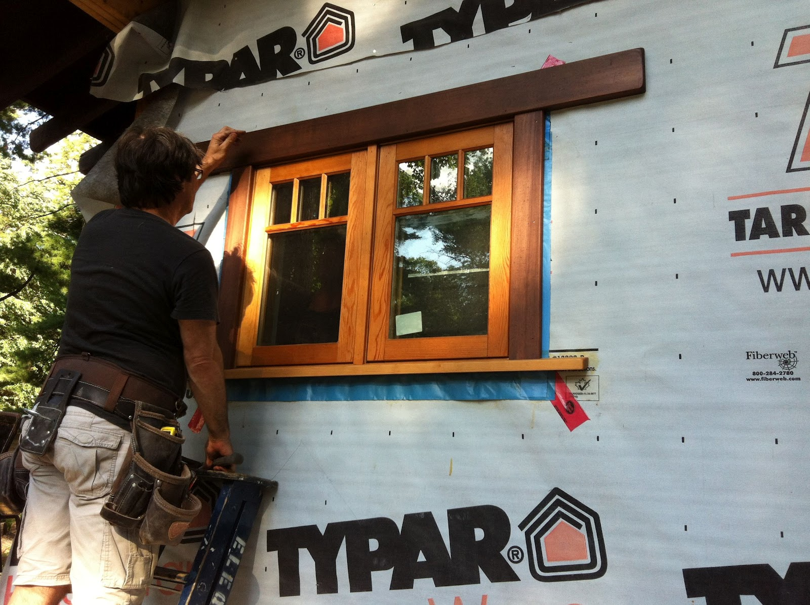 Post 98 - Exterior Window Trim | Building Black Oaks