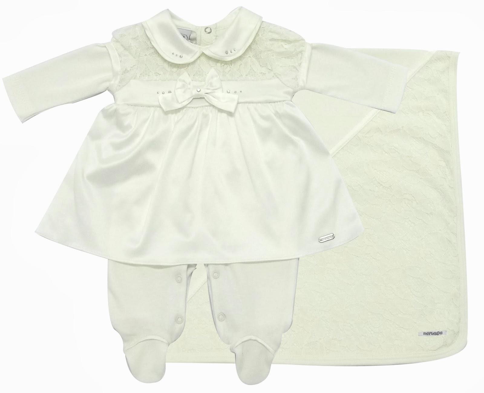 Roupas de bebê da marca Noruega, linda saída de maternidade com strass e renda