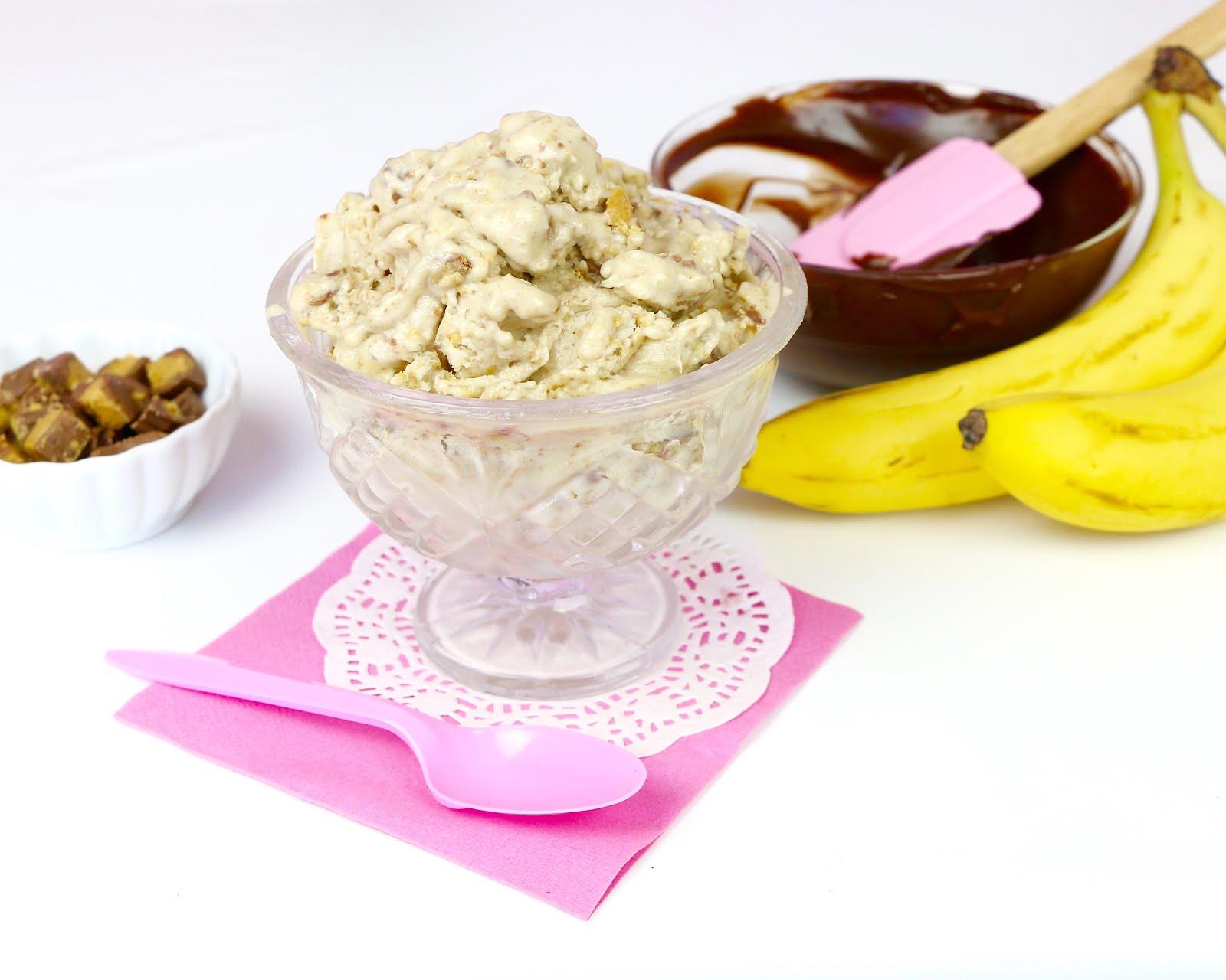 how to make natural banana ice cream