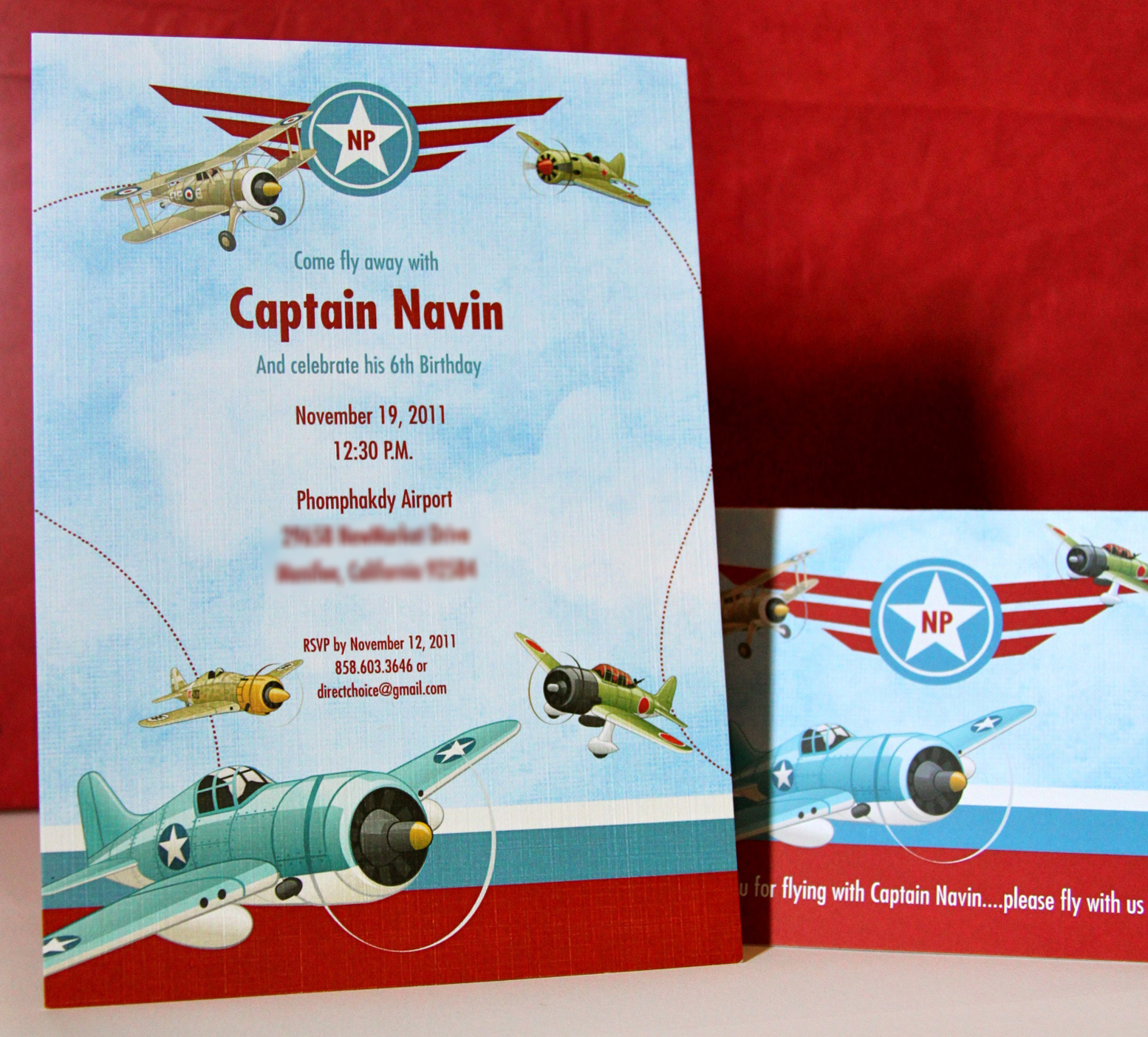 Invitation Parlour: Fly Away with the Captain - Vintage Planes ...