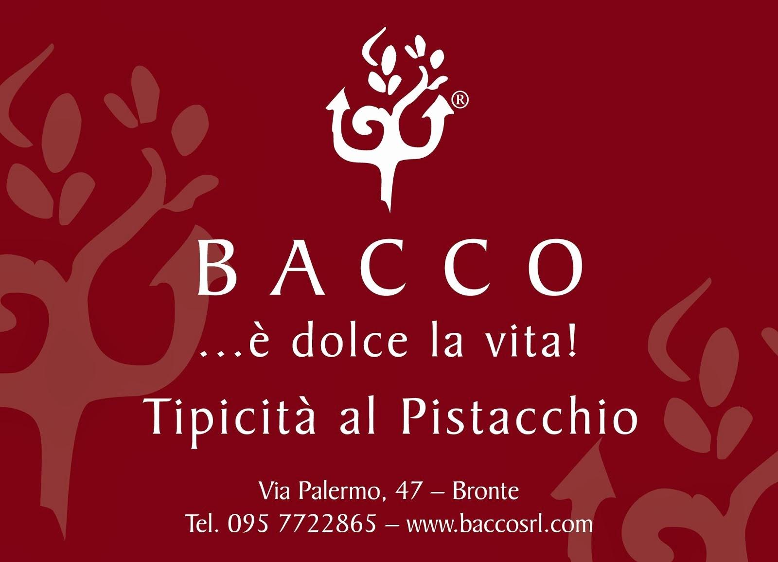 Bacco specialità al pistacchio