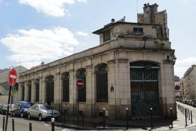 Des usines paris rue de buzenval un poste lectrique en voie de d molition - Numero encombrant paris ...