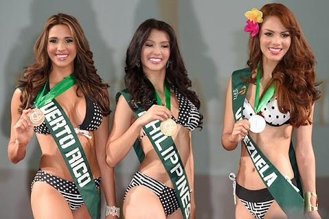 Así va la tabla de medallero - Miss Earth 2014