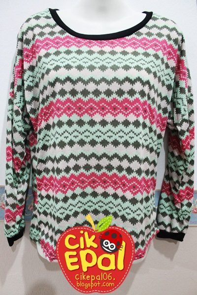 Anyone interested with Tribal / Aztec Long Sleeve Top ?