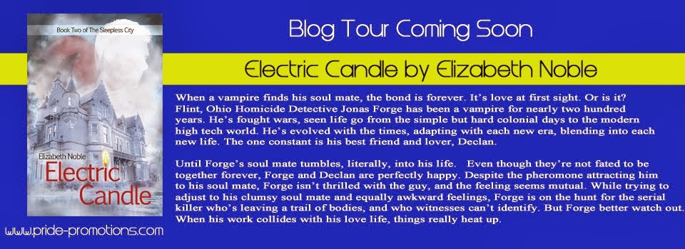 Electric Candle Blog Tour