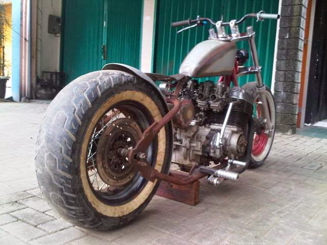 Top honda cb modifikasi harley