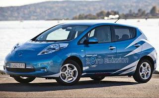 coche electrico nissan leaf