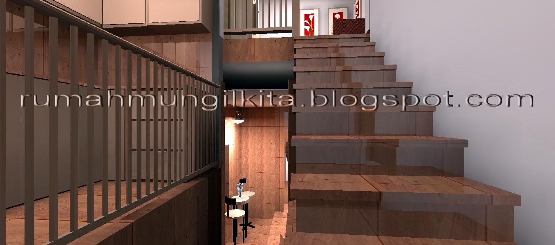 tangga berbentuk u