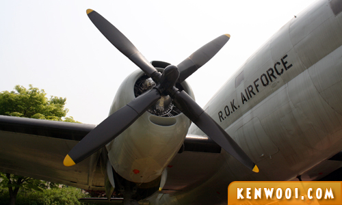 war memorial korea aircraft