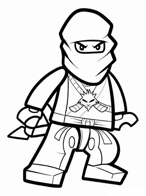 Lego Ninjago Coloring Pages 1 title=