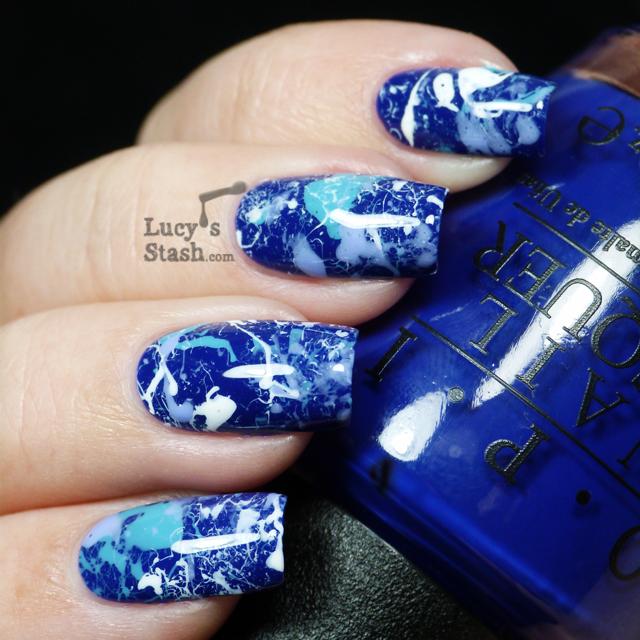 Lucy's Stash - OPI Splatter Manicure