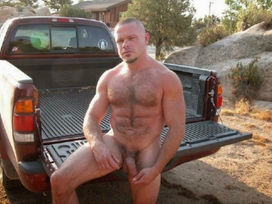 Truck nude drivers woman